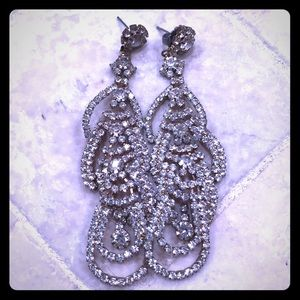 Jewelry - Gorgeous bridal earrings or formal dress !!